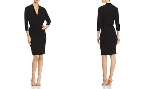Three Dots Faux-Wrap Sweater Dress - Bloomingdale's_2