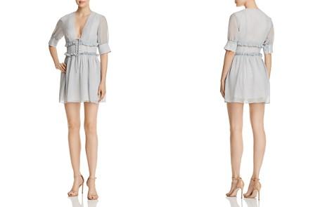 The East Order Willa Ruffled Gingham Mini Dress - Bloomingdale's_2
