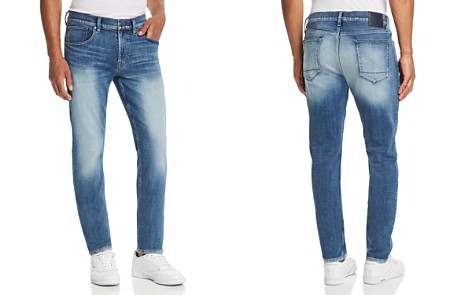 Hudson Blake Straight Slim Fit Jeans in Navarro - Bloomingdale's_2