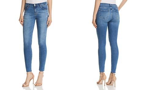 J Brand 620 Super Skinny Jeans in Sawyer Destruct - Bloomingdale's_2
