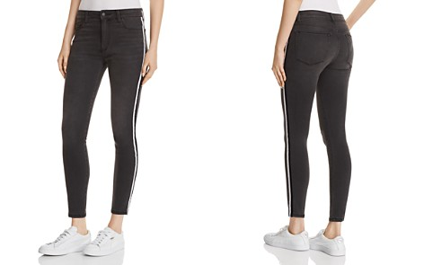 Joe's Jeans Charlie Race-Stripe Ankle Skinny Jeans in Ashley - Bloomingdale's_2