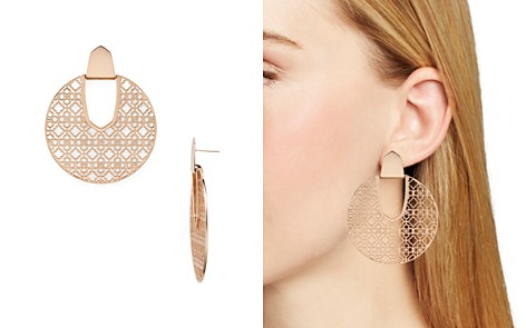 Kendra Scott Diane Latticework Medallion Drop Earrings - Bloomingdale's_2
