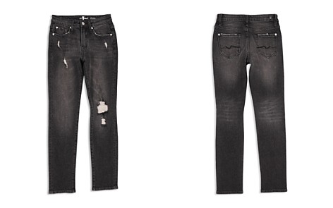 7 For All Mankind Boys' Distressed Paxton Stretch Jeans in Eclipse - Little Kid - Bloomingdale's_2