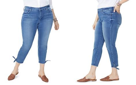 NYDJ Plus Ami Skinny Tie-Hem Ankle Jeans in Wishful - Bloomingdale's_2