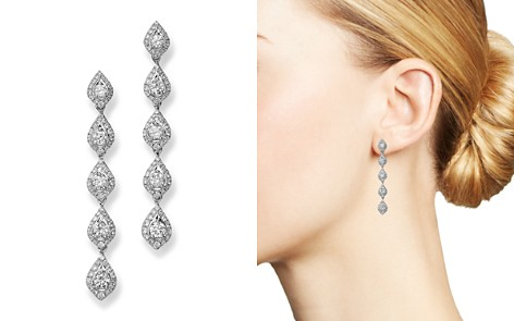 Bloomingdale's Diamond Linear Teardrop Earring in 14K White Gold, 1.75 ct. t.w. - 100% Exclusive_2
