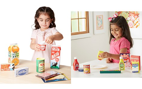 Melissa & Doug Shopping Cart, Fridge Fillers & Wooden Pantry Products Bundle - Ages 3+ - Bloomingdale's_2