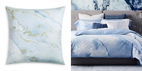 """Oake Marble Foil Decorative Pillow, 22"""" x 22"""" - 100% Exclusive - Bloomingdale's_2"""