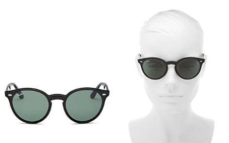 Ray-Ban Women's Blaze Round Sunglasses, 37mm - Bloomingdale's_2