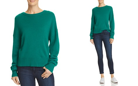 Theory Relaxed Cashmere Sweater - Bloomingdale's_2