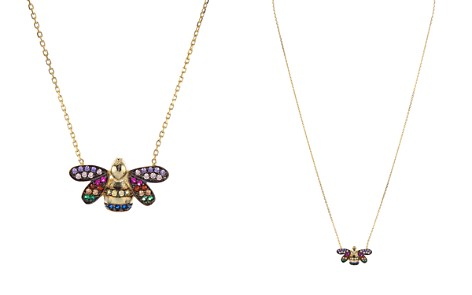 "AQUA Multi Color Bee Pendant Necklace, 15"" - 100% Exclusive - Bloomingdale's_2"