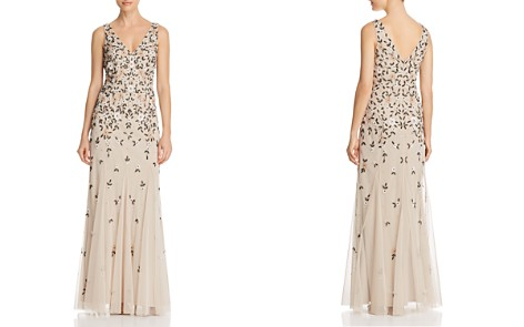 Adrianna Papell Embellished Godet Gown - Bloomingdale's_2