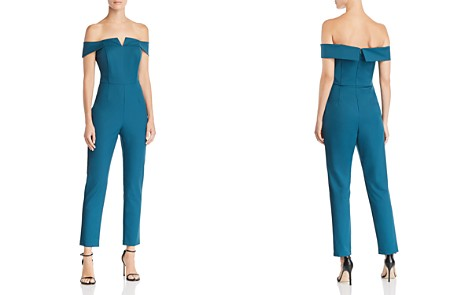 Adelyn Rae Alana Off-the-Shoulder Jumpsuit - Bloomingdale's_2