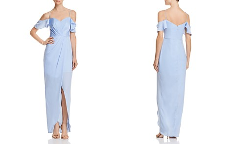 Bariano Kendall Cold-Shoulder Gown - Bloomingdale's_2