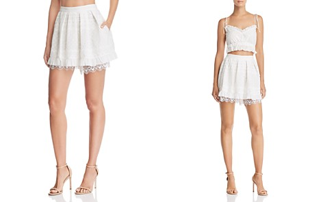For Love & Lemons Charlotte Eyelet Mini Skirt - Bloomingdale's_2