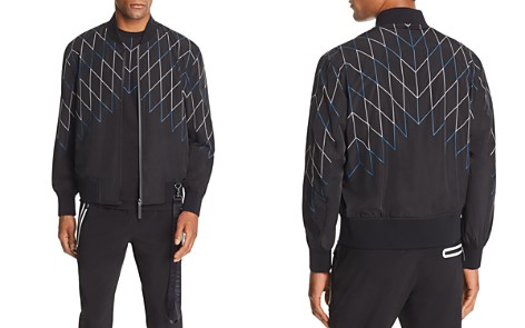 BLACKBARRETT by Neil Barrett Football Net-Print Bomber Jacket - Bloomingdale's_2