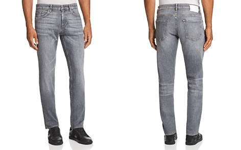 BOSS Delaware Straight Slim Fit Jeans in Gray - 100% Exclusive - Bloomingdale's_2