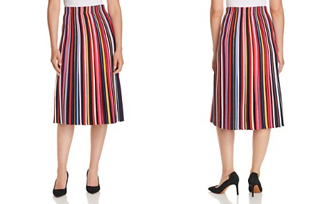 Tory Burch Ellis Striped Midi Skirt - Bloomingdale's_2