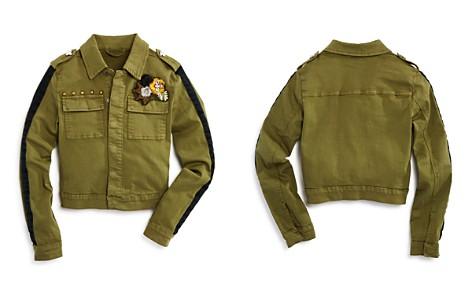Hudson Girls' Embroidered & Studded Surplus Jacket, Big Kid - 100% Exclusive - Bloomingdale's_2
