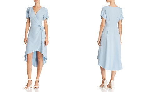 AQUA High/Low Faux-Wrap Dress - 100% Exclusive - Bloomingdale's_2