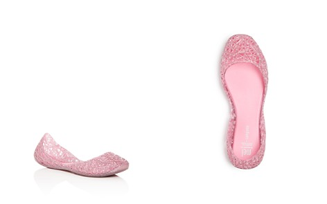 Mini Melissa Girls' Campana Glitter Zigzag Flats - Toddler, Little Kid - Bloomingdale's_2