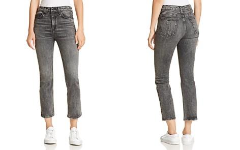rag & bone/JEAN Hana Slim Cropped Bootcut Jeans in Von - Bloomingdale's_2