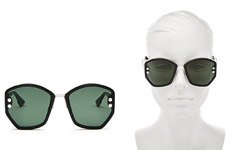 Dior Women's Addict Round Sunglasses, 59mm - Bloomingdale's_2