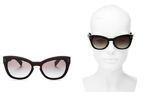 Valentino Women's Rockstud Cat Eye Sunglasses, 53mm - Bloomingdale's_2