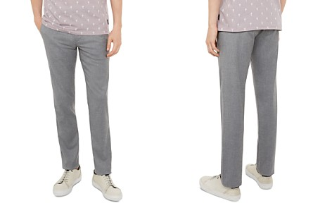 Ted Baker Semi-Plain Slim Fit Trousers - Bloomingdale's_2