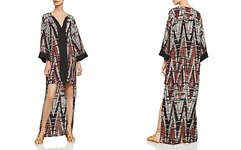 BCBGMAXAZRIA Chevron High/Low Dress - Bloomingdale's_2