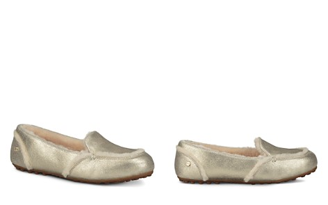 UGG® Women's Hailey Metallic Loafers - Bloomingdale's_2