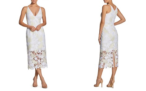Dress the Population Aurora Lace Midi Dress - Bloomingdale's_2