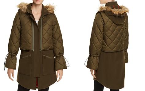 Joie Hetal Two-Piece Layered Coat - Bloomingdale's_2