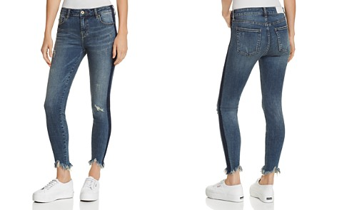Pistola Audrey Side-Stripe Distressed Skinny Jeans in Situational - Bloomingdale's_2