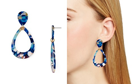 AQUA Multicolored Lucite Teardrop Earrings - 100% Exclusive - Bloomingdale's_2