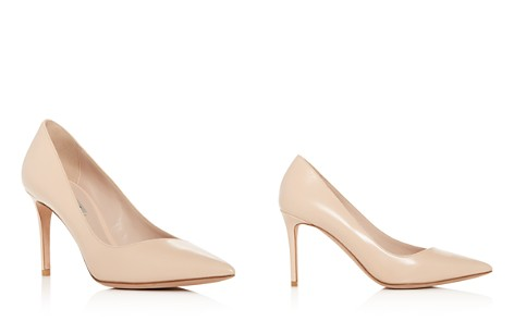 Giorgio Armani Women's Decollete Leather Pointed Toe Pumps - Bloomingdale's_2