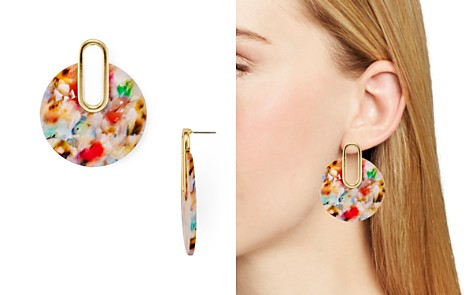 AQUA Multicolor Marled Drop Earrings - 100% Exclusive - Bloomingdale's_2