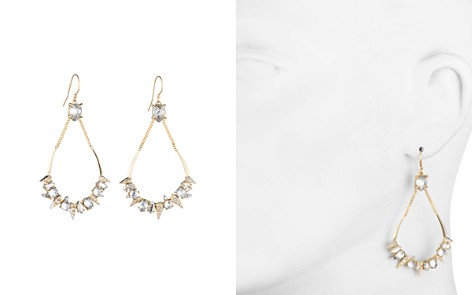 Alexis Bittar Swarovski Crystal Encrusted Mosaic Teardrop Earrings - Bloomingdale's_2