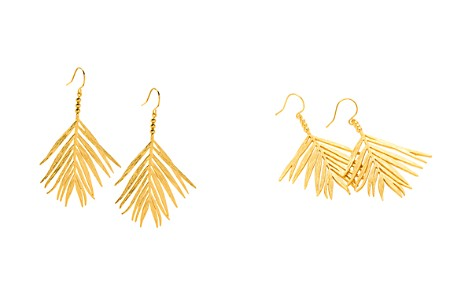 Gorjana Palm Drop Earrings - Bloomingdale's_2