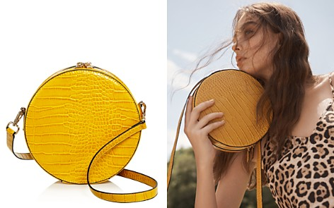 AQUA Medium Circle Croc-Embossed Crossbody - 100% Exclusive - Bloomingdale's_2