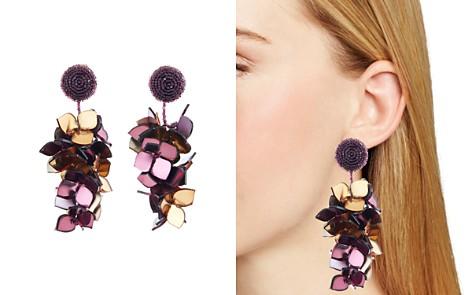 Oscar de la Renta Falling Flower Clip-On Earrings - Bloomingdale's_2