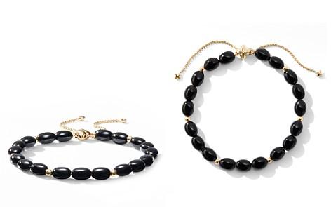 David Yurman Bijoux Spiritual Beads Bracelet with Black Onyx and 18K Gold - Bloomingdale's_2