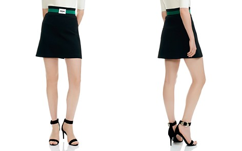 Maje Jimajor Dream A-Line Mini Skirt - Bloomingdale's_2