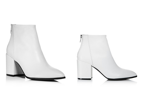 AQUA Women's Dante Pointed Toe Leather Booties - 100% Exclusive - Bloomingdale's_2