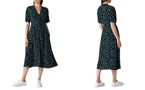 Whistles Naya Lenno-Print Dress - Bloomingdale's_2