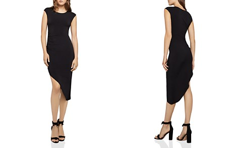 BCBGeneration Asymmetric Ruched Dress - Bloomingdale's_2