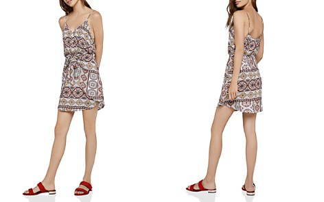 BCBGeneration Tropical Tie-Front Dress - Bloomingdale's_2