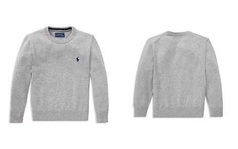 Polo Ralph Lauren Boys' Cotton Crewneck Sweater - Little Kid - Bloomingdale's_2