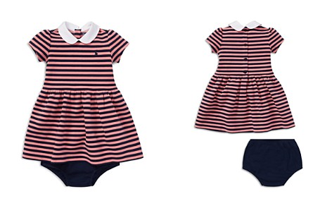 Ralph Lauren Girls' Striped Ponte Dress & Bloomers Set - Baby - Bloomingdale's_2