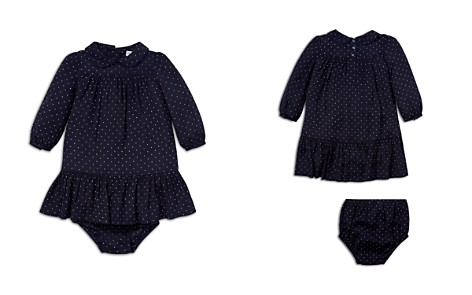 Ralph Lauren Girls' Polka-Dot Dress & Bloomers Set - Baby - Bloomingdale's_2