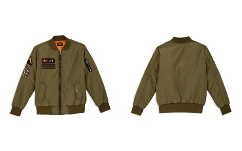 Hudson Boys' Military Bomber Jacket - Little Kid, 100% Exclusive - Bloomingdale's_2